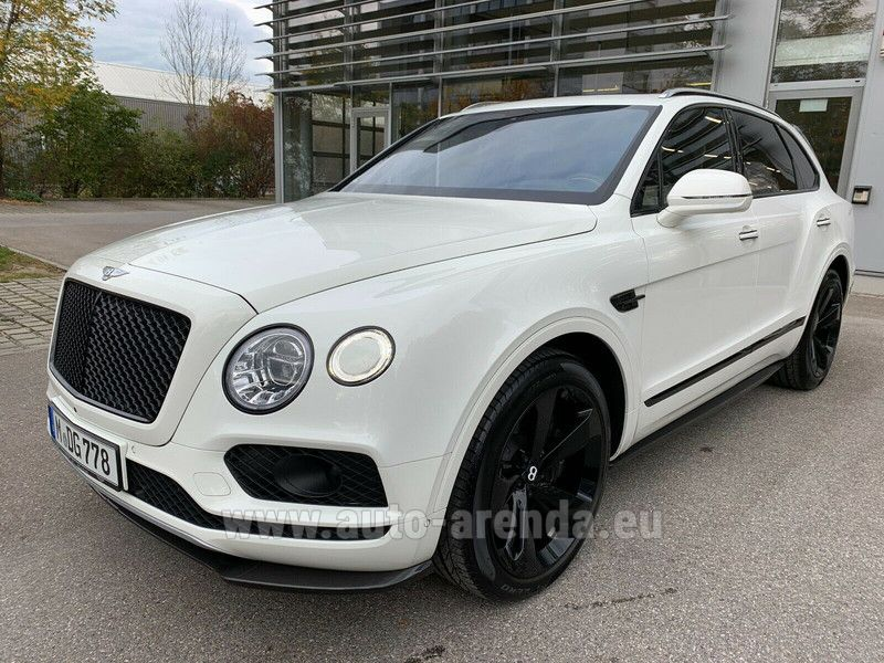 Купить Bentley Bentayga W12 в Чехии