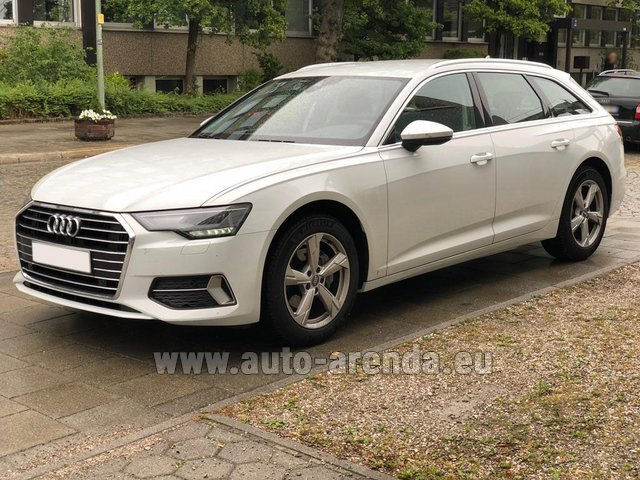 Rental Audi A6 40 TDI Quattro Estate in Pilsen