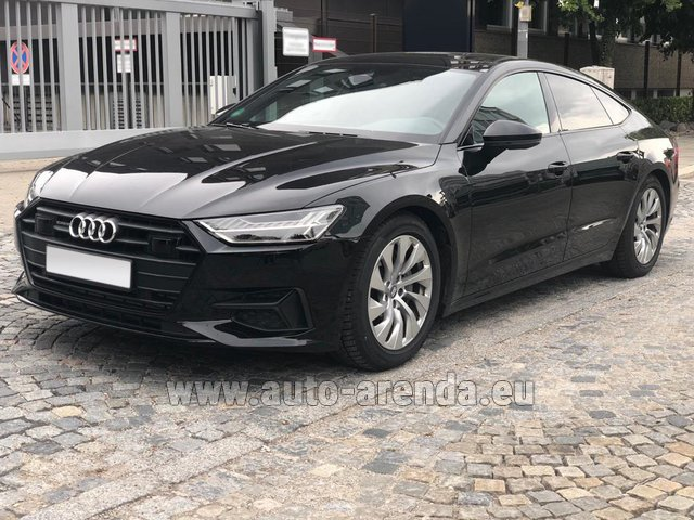 Rental Audi A7 50 TDI Quattro Equipment S-Line in Pilsen