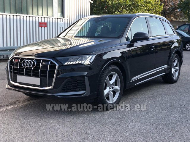 Прокат Ауди Q7 50 TDI Quattro Equipment S-Line (5 мест) в Чехии