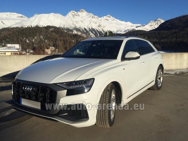 Hire and delivery to Prague Airport the car Audi Q8 50 TDI Quattro