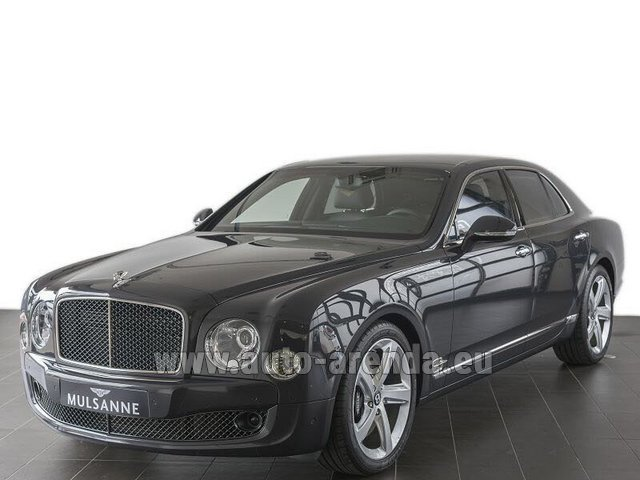 Rental Bentley Mulsanne Speed V12 in Brno