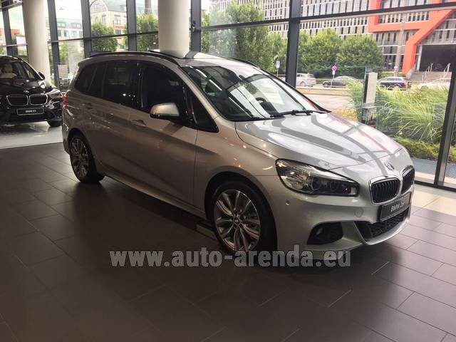 Rental BMW 2 Gran Tourer Equipment M Sport in Pilsen