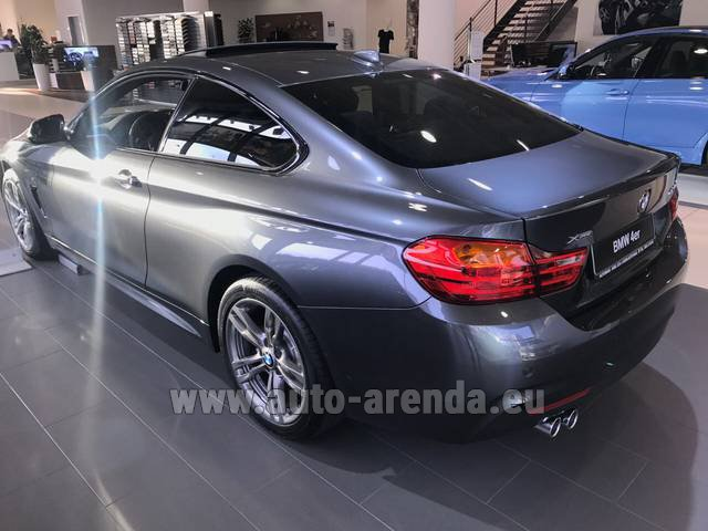Rental BMW 420d xDrive Coupe M Sportpaket in Brno