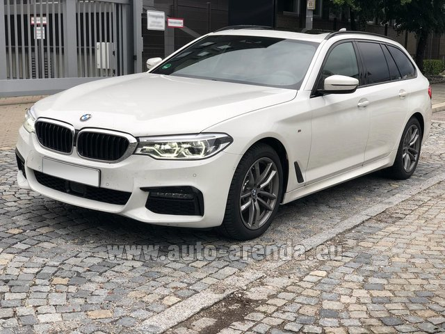 Rental BMW 520d xDrive Touring M equipment in Pilsen