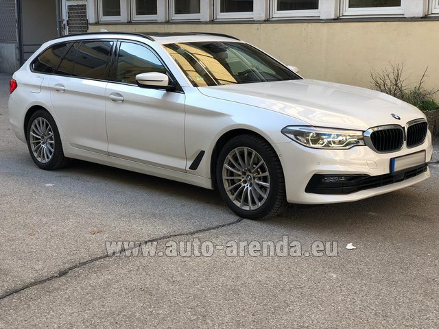 Rental BMW 5 Touring Equipment M Sportpaket in Pilsen
