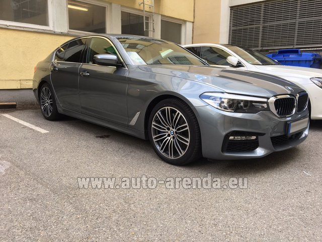 Rental BMW 540i M in Brno