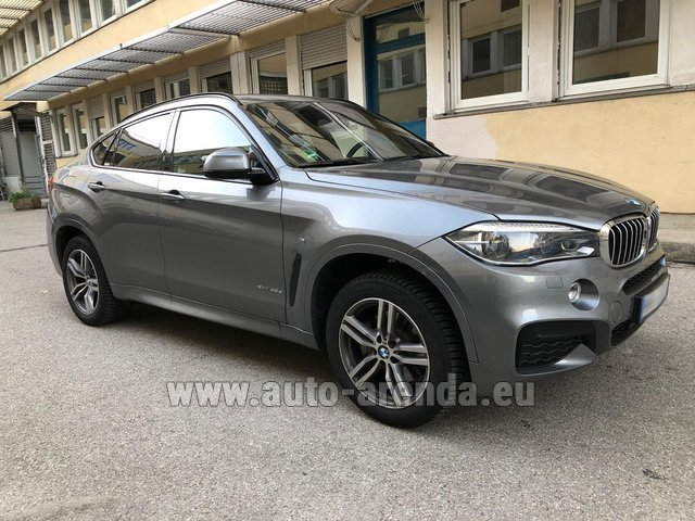 Rental BMW X6 4.0d xDrive High Executive M in Brno
