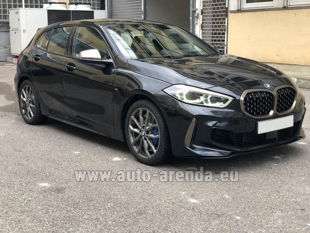 Hire and delivery to Prague Airport the car BMW M135i XDrive