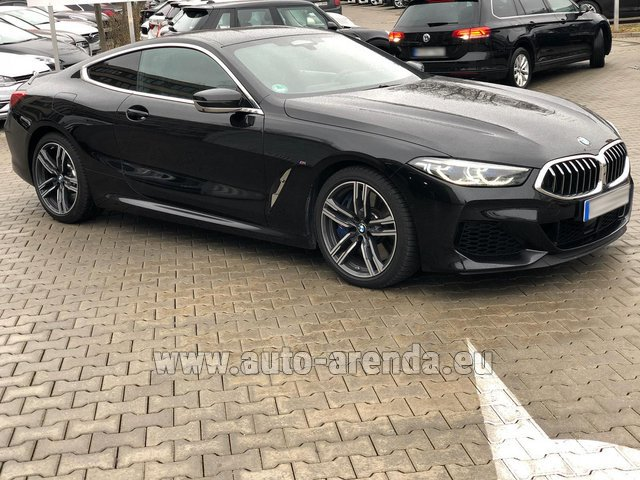 Rental BMW M850i xDrive Coupe in Pilsen