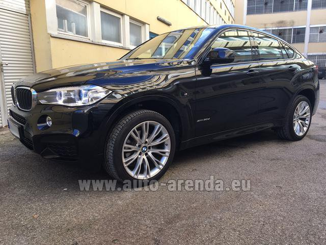 Rental BMW X6 3.0d xDrive High Executive M Sport in Pilsen