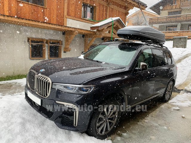 Transfer from Karlovy Vary to Munich by BMW X7 M50d (1+6 pax) car