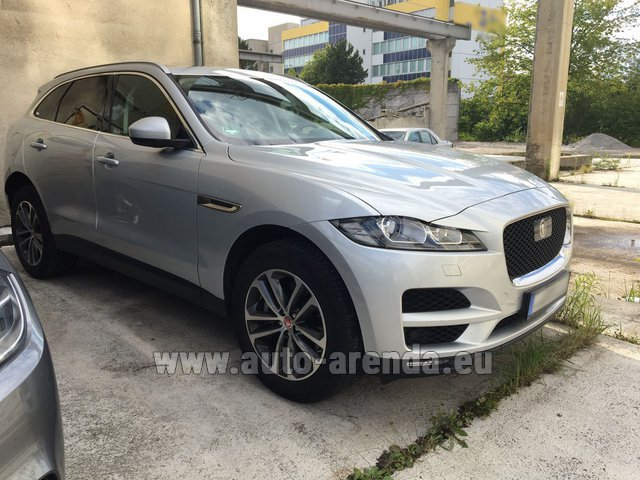 Rental Jaguar F-Pace in Brno