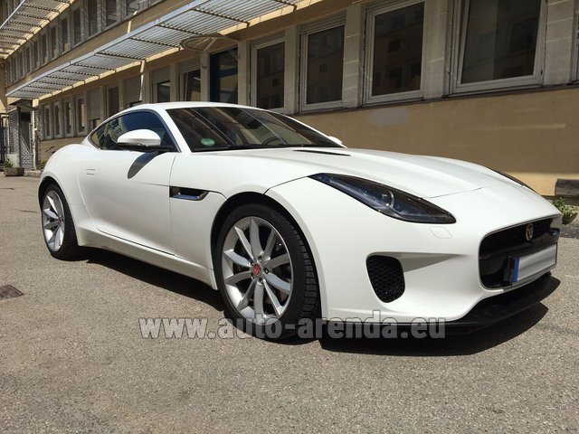 Rental Jaguar F-Type 3.0 Coupe in Brno