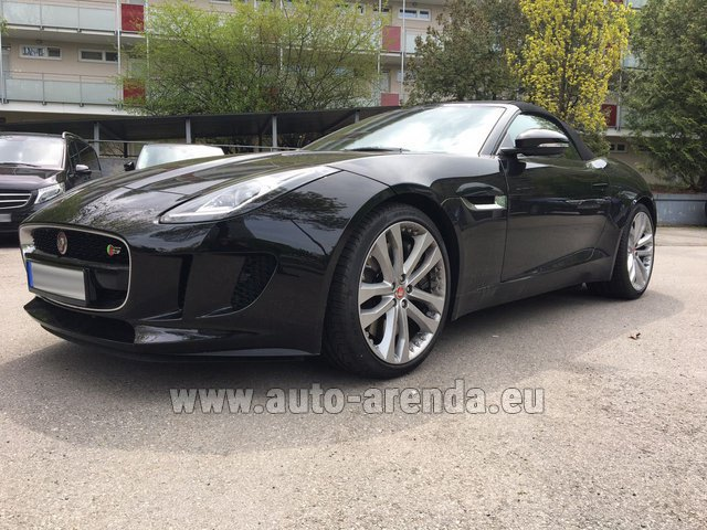 Rental Jaguar F Type 3.0L in The Czech Republic