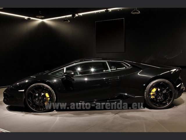 Rental Lamborghini Huracan LP580-2 Lifting System Giano 20 in Brno