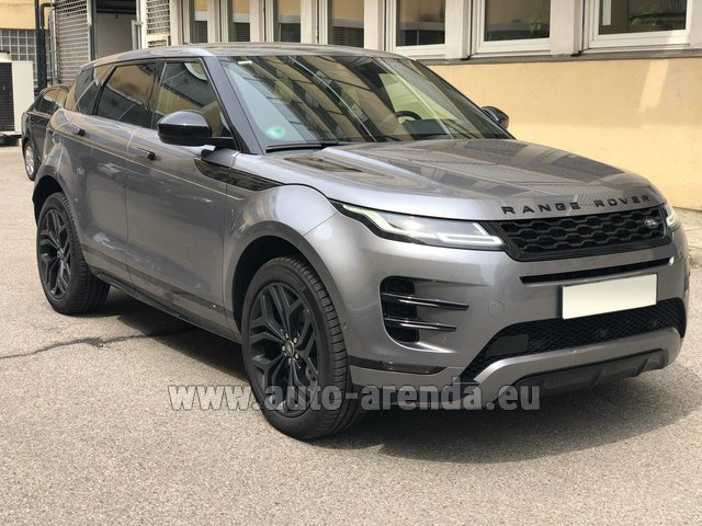 Rental Land Rover Range Rover Evoque D180SE in Brno