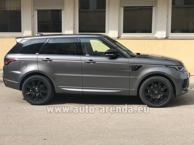 Hire and delivery to Prague Airport the car Land Rover Range Rover Sport SDV6 Panorama 22