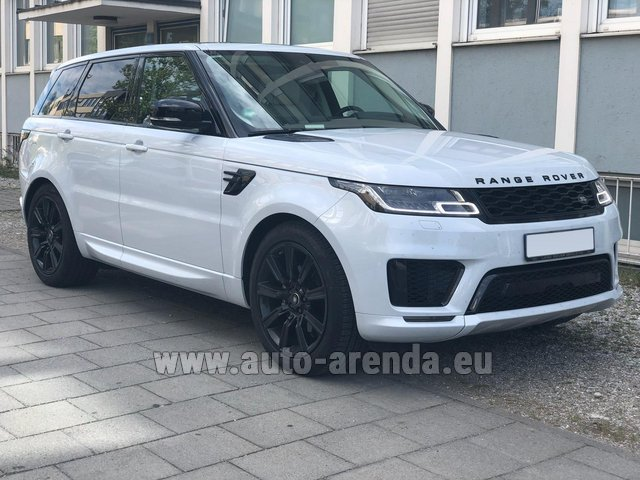 Rental Land Rover Range Rover Sport White in Brno