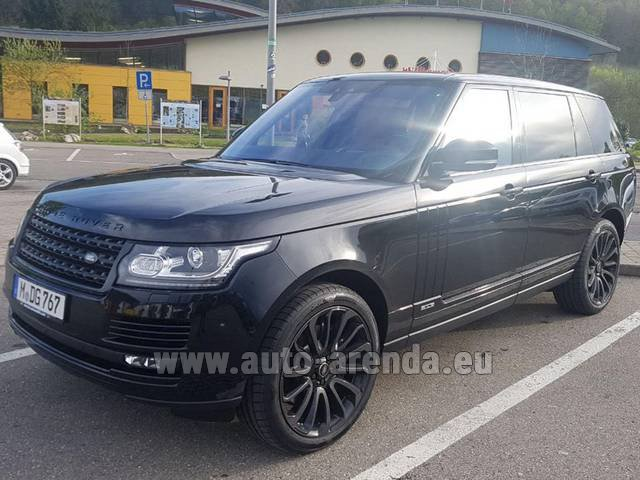 Rental Land Rover Range Super Charge 5.0L Long in Brno