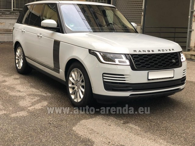 Rental Land Rover Range Rover Vogue P525 in Brno