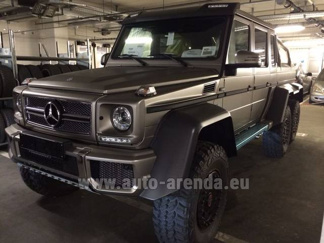 Rental Mercedes-Benz 6x6 AMG 6.3 in The Czech Republic