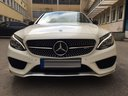 Rent-a-car Mercedes-Benz C-Class C43 AMG Biturbo 4MATIC White in Ostrava, photo 2