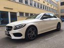 Rent-a-car Mercedes-Benz C-Class C43 AMG Biturbo 4MATIC White in Ostrava, photo 1