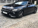 Rent-a-car Mercedes-Benz E-Class E220d Cabriolet AMG equipment in The Czech Republic, photo 1