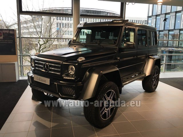Rental Mercedes-Benz G-Class G 500 4x4² V8 in Brno