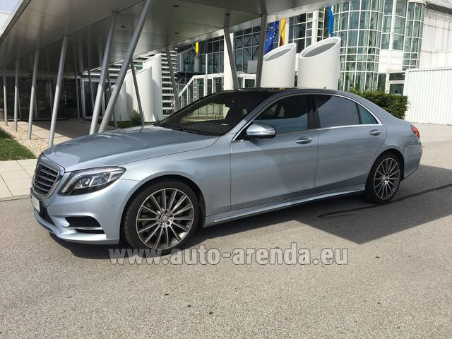 Rental Mercedes-Benz S 350 L BlueTEC 4MATIC AMG in Brno