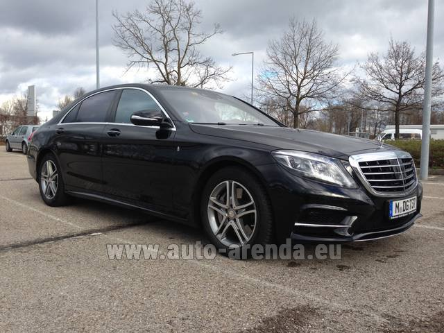 Rental Mercedes-Benz S 350 Long Diesel 4x4 AMG in Brno