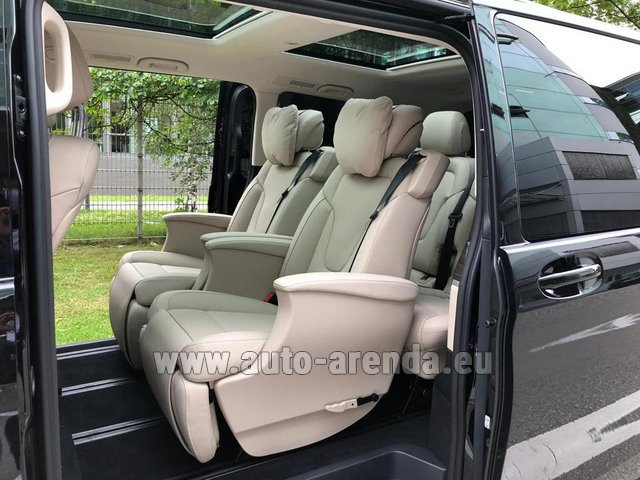 Rental Mercedes-Benz V300d 4MATIC EXCLUSIVE Edition Long LUXURY SEATS AMG Equipment in Pilsen