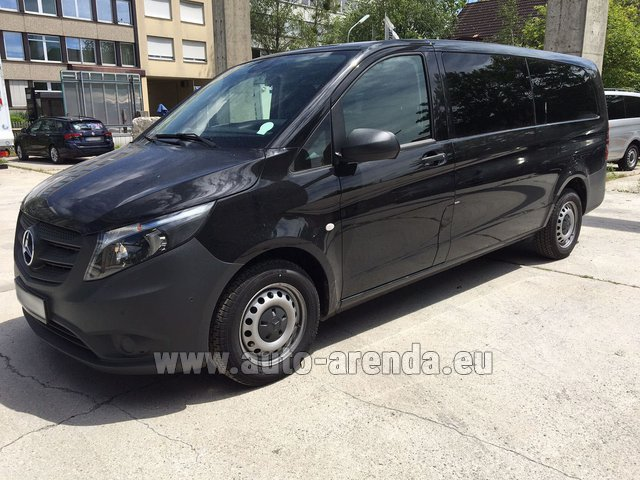 Transfer from Prague to Munich by Mercedes Vito Long (1+8 Pax) AMG equipment car