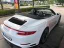 Rent-a-car Porsche 911 Carrera Cabrio White in Brno, photo 2