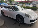 Rent-a-car Porsche 911 Carrera Cabrio White in Brno, photo 1