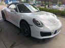 Rent-a-car Porsche 911 Carrera Cabrio White in Brno, photo 8