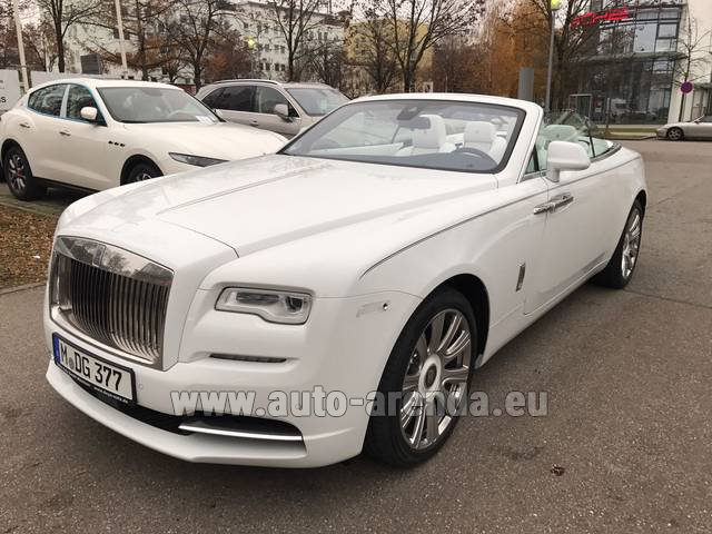 Rental Rolls-Royce Dawn in Brno