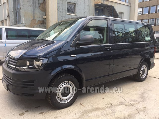Rental Volkswagen Transporter T6 (9 seater) in Brno