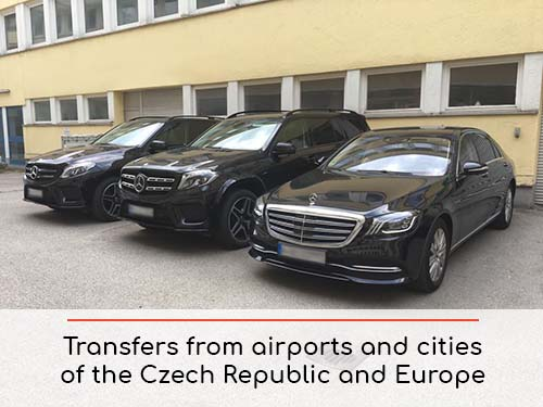 Transfers from airports and cities in The Czech Republic and Europe | Car rental with driver